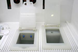 Ванна-стоп и ванна финишной промывки