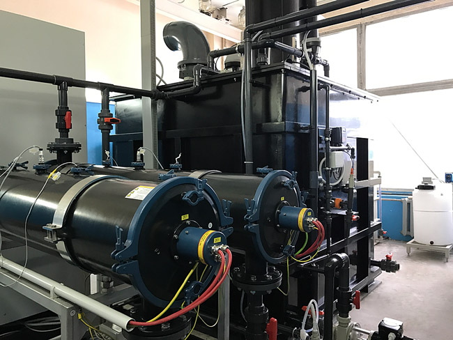УФ-реакторы установки окисления
